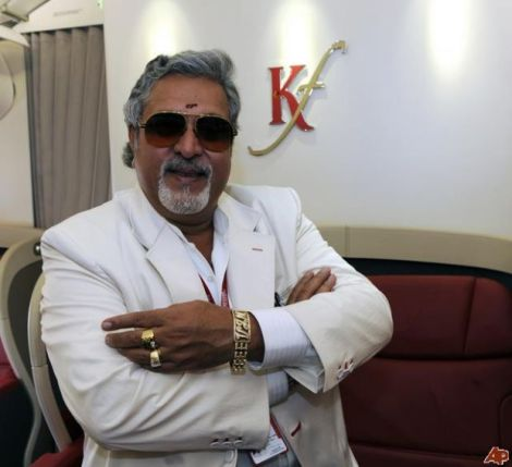 VIJAY MALLYA - MAJOR PLAYER IN BUSINESS...