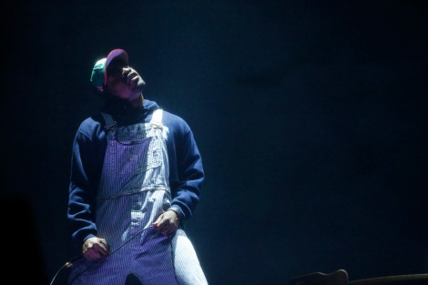 Andre 3000 of Outkast performs at the Coachella Valley Music and Arts Festival in Indio