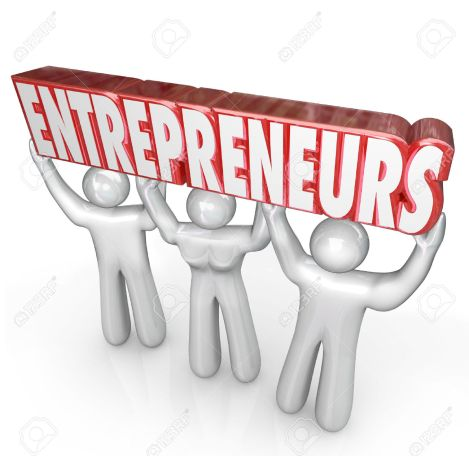 28599208-entrepreneurs-word-lifted-by-three-business-people-to-illustrate-a-new-company-startup-by-self-emplo