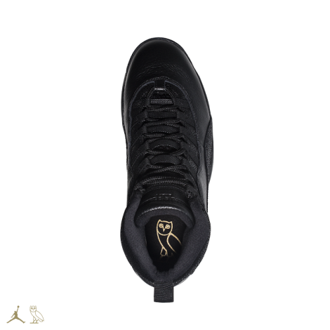 BLACK+OVO+JORDAN+10S+TOP